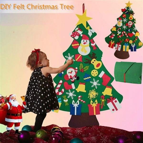 navidaddecoracion, feltchristmastree, arvoredenatal, weihnachtsdeko