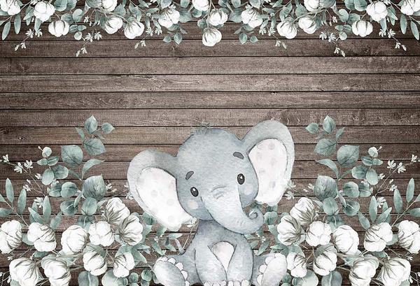 photography backdrops, Elephant, Shower, cute