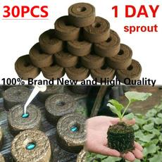 flowerplantsampseedling, compressedmud, Gardening Tools, Gardening Supplies