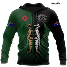 hoodiesformen, Australia, Tops, anzacday