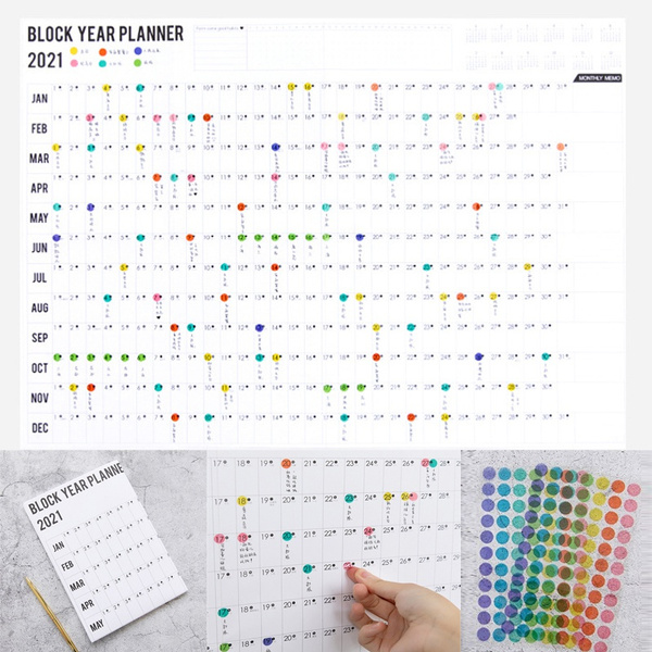 planner, Office, Colorful, schedule