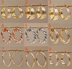 bighoopearring, Fashion, gold, Earring