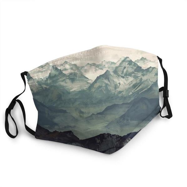 Mountain, none, antidust, Masks