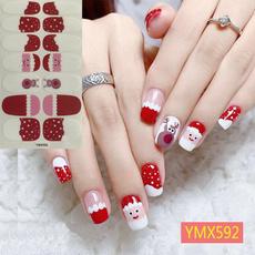 Nails, nail stickers, Fashion, Christmas
