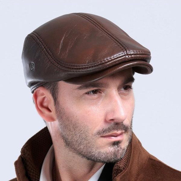 mensleathercap, Fashion, Winter, ivycap