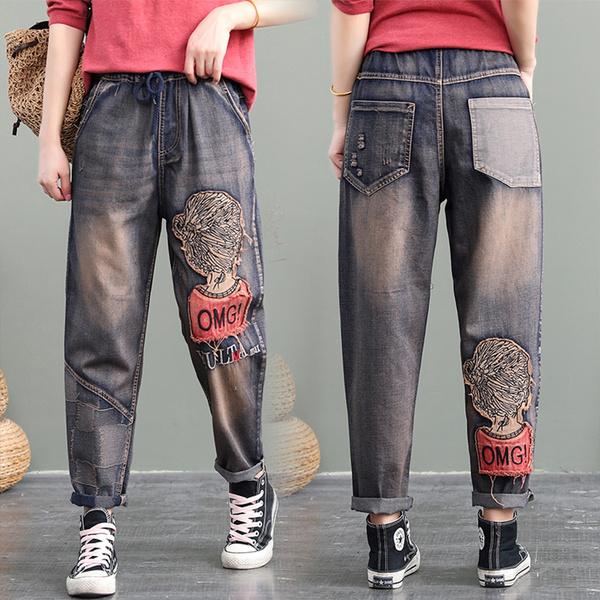 harem, Fashion, Waist, pants