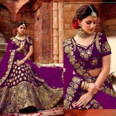 purple, Designers, velvet, lahengacholi