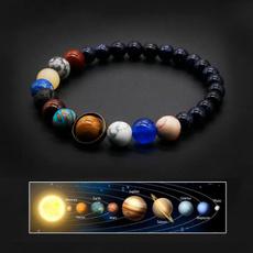 Charm Bracelet, Beaded Bracelets, Stone, Solar