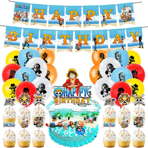 partybanner, animeparty, Party Tableware, Balloon