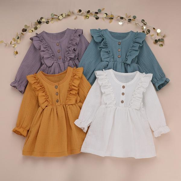 girls dress, Fashion, kidsgirldresse, Long Sleeve
