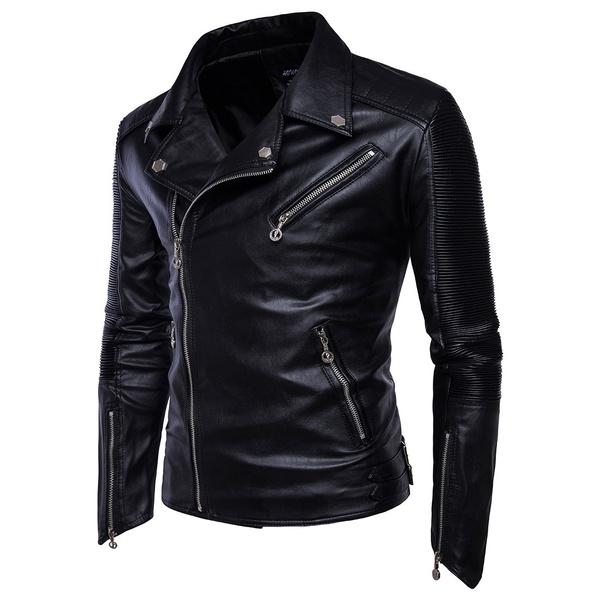 Fashion, leather, Coat, motorcycleleathercoat