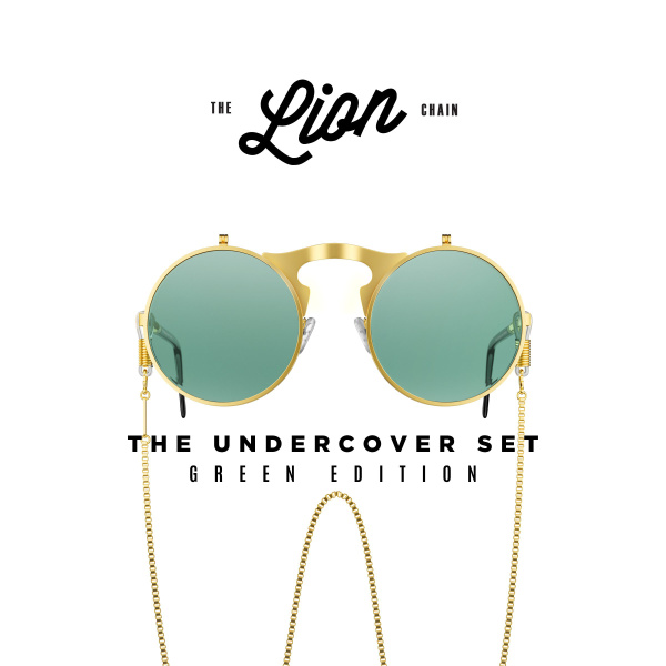 sunglasseschain, cool sunglasses, Green, Sunglasses