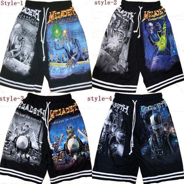heavymental, 3dshort, Shorts, bandshort