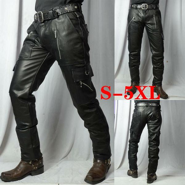 Fashion, lambskin, leather, Men