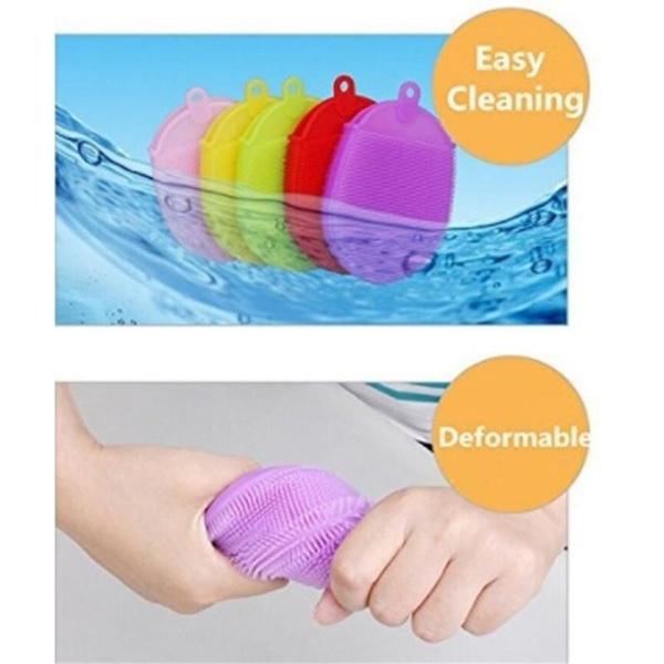 Sponges, Silicone, Gloves, Bath