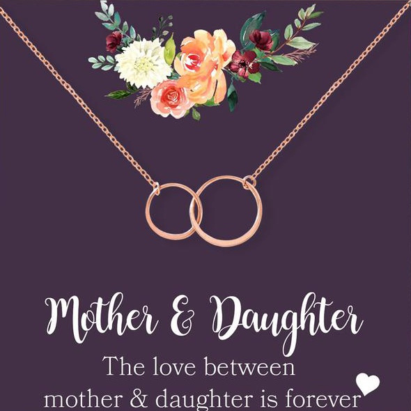 circlenecklace, motherdaughter, Jewelry, Gifts