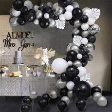 balloonwhiteblack, balloongarland, Jewelry, birthdaydecorationsman