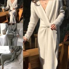 Fashion, sweater dress, Waist, Sleeve