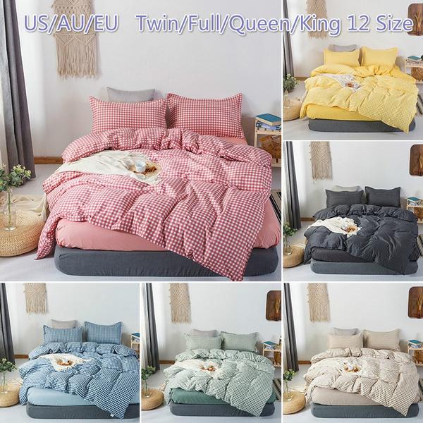 Home & Kitchen, plaid, Pillow Shams, quiltcover