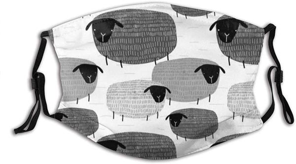Sheep, cute, Fashion, filtermask