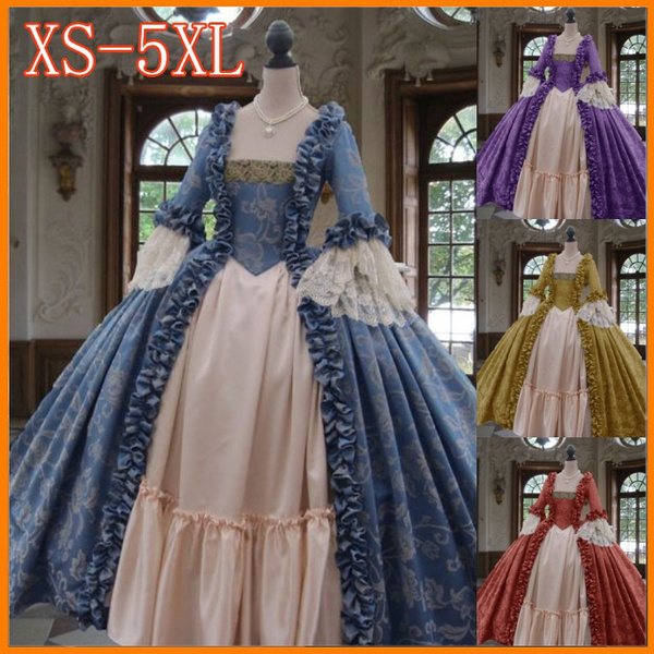 Plus Size, pleated dress, Medieval, Dress
