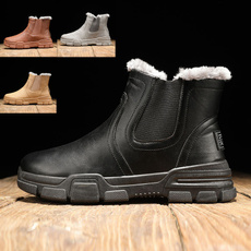 Cotton, Leather Boots, Winter, cottonboot