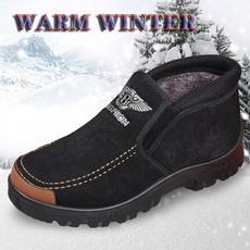 keepwarmshoe, cottonshoe, velvet, Winter