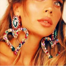 exaggeratedearring, DIAMOND, colorearring, Jewellery