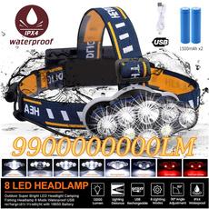 Flashlight, Head, Відпочинок на природі, led