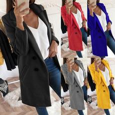 woolen coat, Plus Size, Fashion, Long Coat