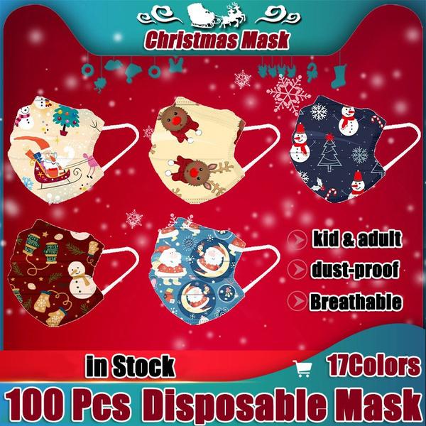 decoration, dustmask, childrenmask, christmasmask