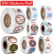 Craft, sealingsticker, labelssticker, Christmas