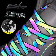 Holographic, Colorful, luminousshoelace, shoelaces