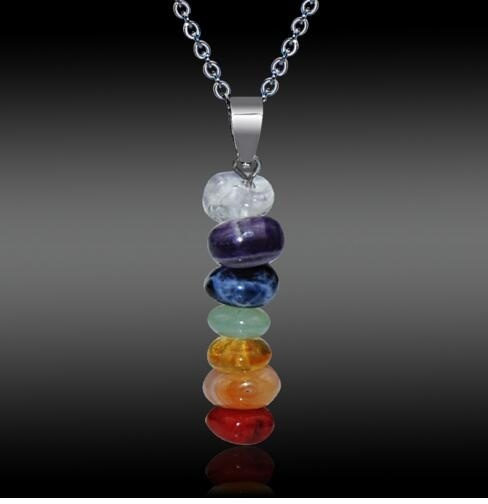 balancingstonenecklace, Yoga, Jewelry, Colorful