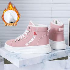 cottonshoe, Fashion, Flats shoes, plusvelvetshoe