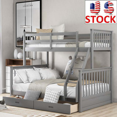 Bedroom Furniture, Wooden, woodbedbunk, ladder