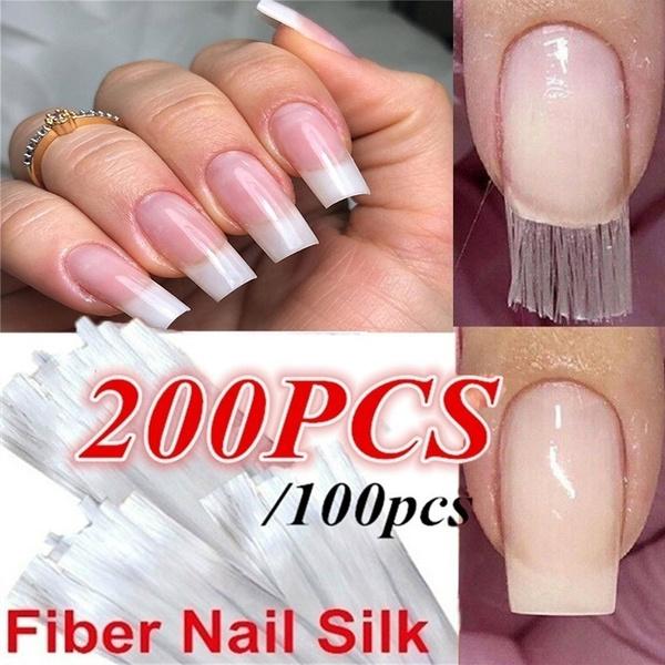 Nails, Nail salon, Fiber, fibernailtip