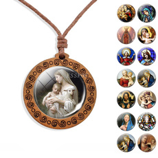 sonofgodjesu, Rope, woodpendant, Jewelry