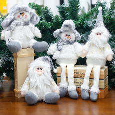 snowman, layout, Christmas, doll