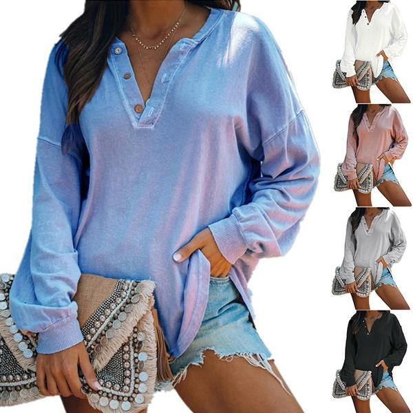 blouse, Plus Size, Blouses & Shirts, Long sleeve top
