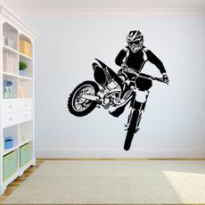 walltattoo, motocros, Sport, For Boys