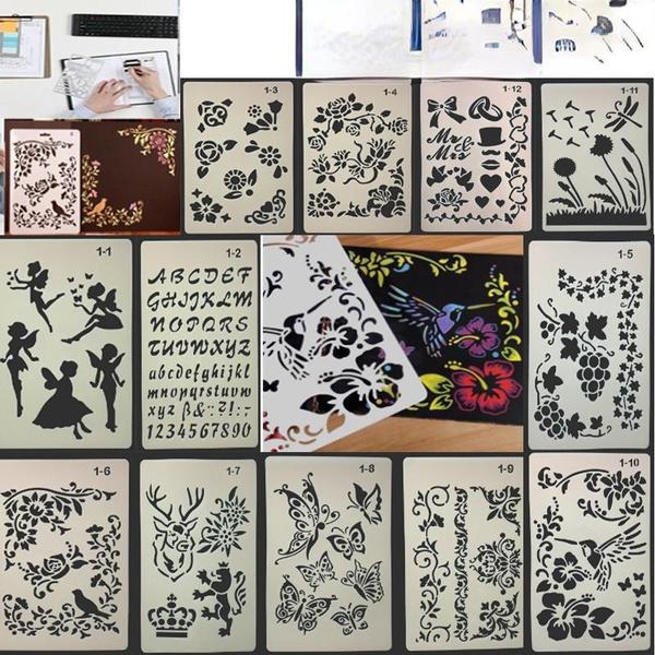 paintingtemplate, stencil, paintingtoolset, Stationery & Party Supplies