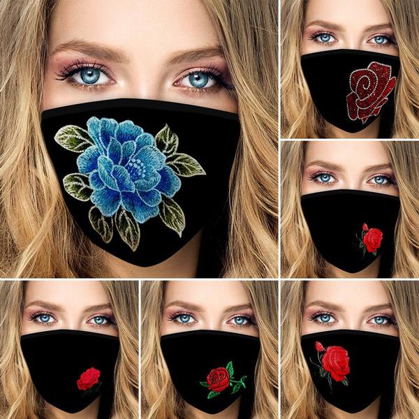 dustproofmask, mouthmask, unisex, Rose