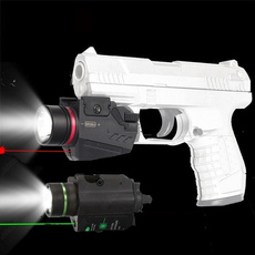 redlasersight, Flashlight, pistolaccessorie, led