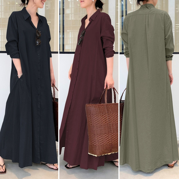 buttondowndres, longshirtdres, Fashion, blousedres