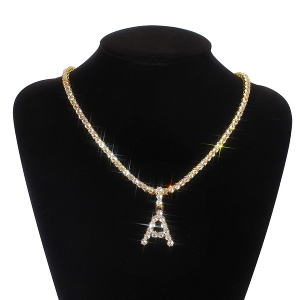 streetstylenecklace, Jewelry, hiphoppendantchain, Diamond Necklace