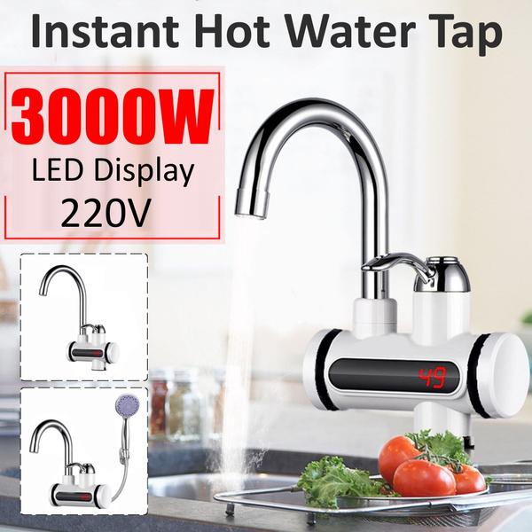 bathroomfaucet, heatingfaucet, led, Tap Faucet