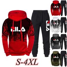 3D hoodies, Fashion, mensset, tracksuitmen