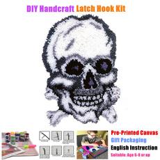 crossstitch, latchhookkit, latchhookrugkit, beginner