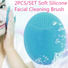 Head, facialcleaningbrush, Beauty, Silicone